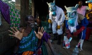 Bakary Emmanuel Daou's photograph, Le Temps Ebola (The Ebola time), 2014.