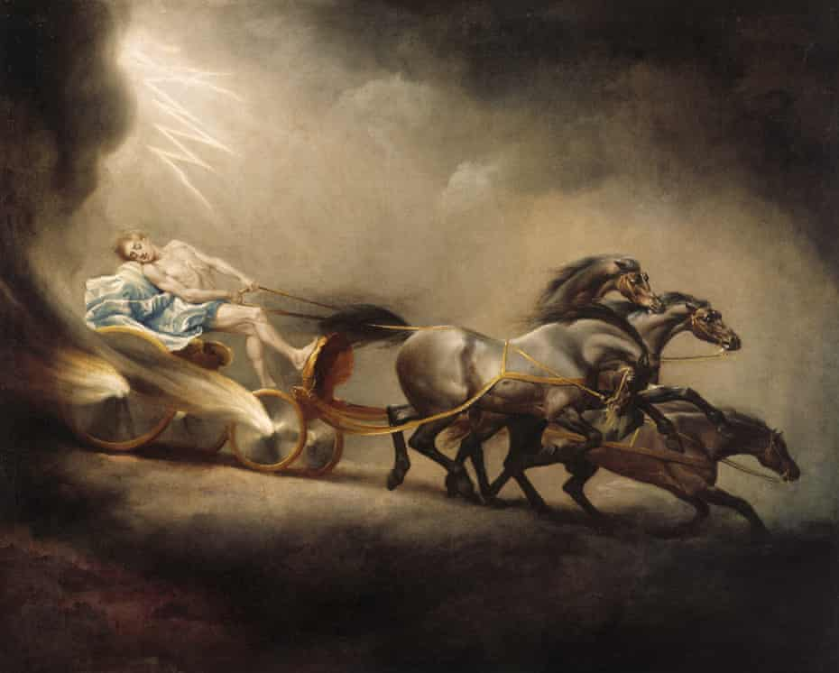 The Fall of Phaeton by George Stubbs, RA (Liverpool (1724).