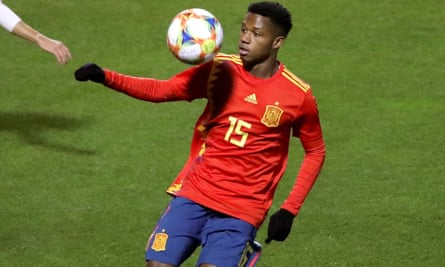 Barcelona youngster Ansu Fati could be one to watch