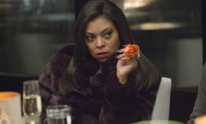 Taraji P Henson as Cookie Lyon in Empire.