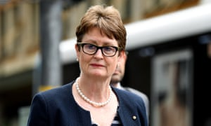 Commonwealth Bank of Australia chair Catherine Livingstone arrives at the banking royal commission.
