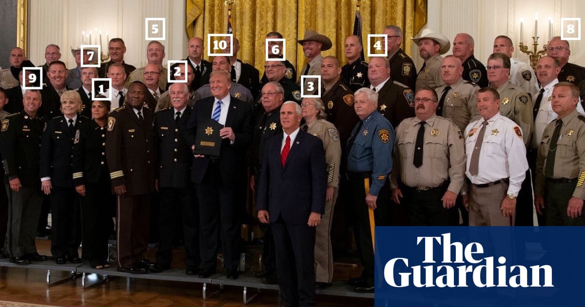 Sheriffs who cheered Trump's attack on press have their own