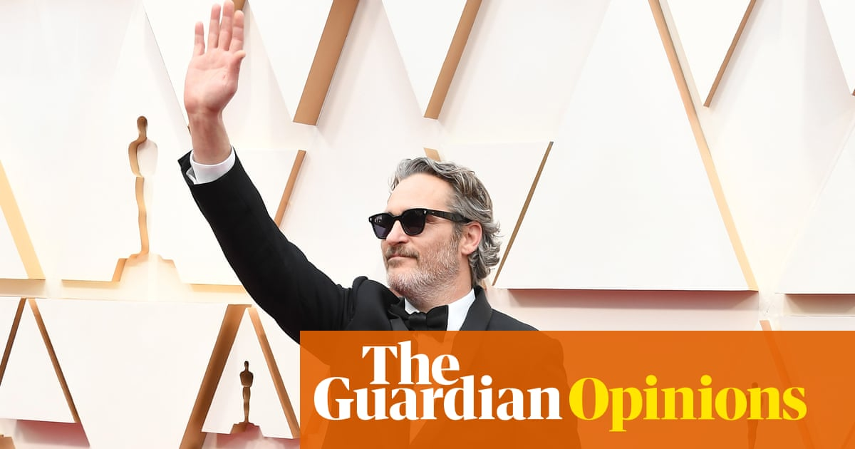 Joaquin Phoenix's Oscars speech casts him as Hollywood's poster boy of progress | Steve Rose