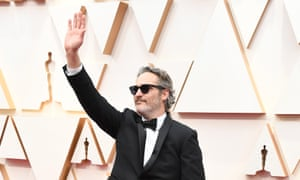 Joaquin Phoenix's Oscars speech casts him as Hollywood's poster boy of progress