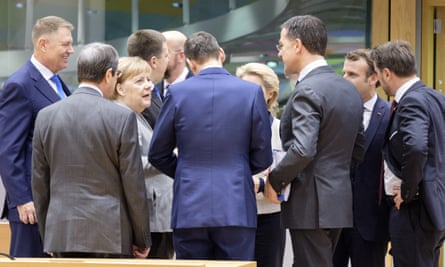 EU leaders at a summit in Brussels last December