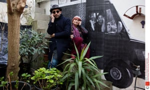 Beguiling … JR and Agnès Varda in Faces Places.