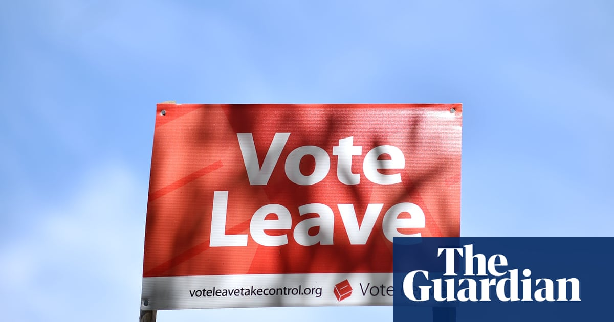 Watchdog Investigates Links Between Canadian Data Firm and Vote Leave