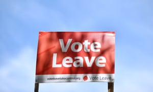 A Vote leave billboard