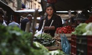 O'Buvero market stall holder.