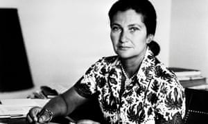 Simone Veil in 1974. Veil died aged 89 in 2017.