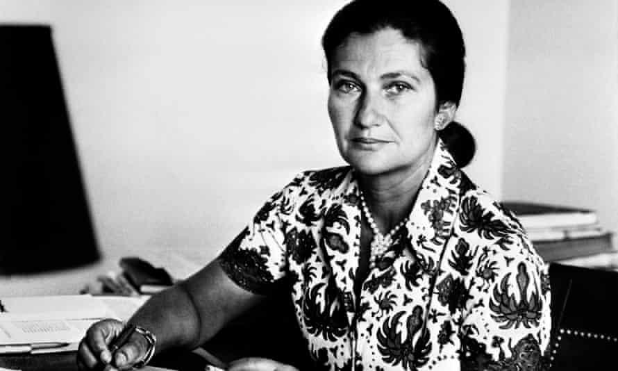 Simone Veil in 1974. Veil died aged 89 in 2017.