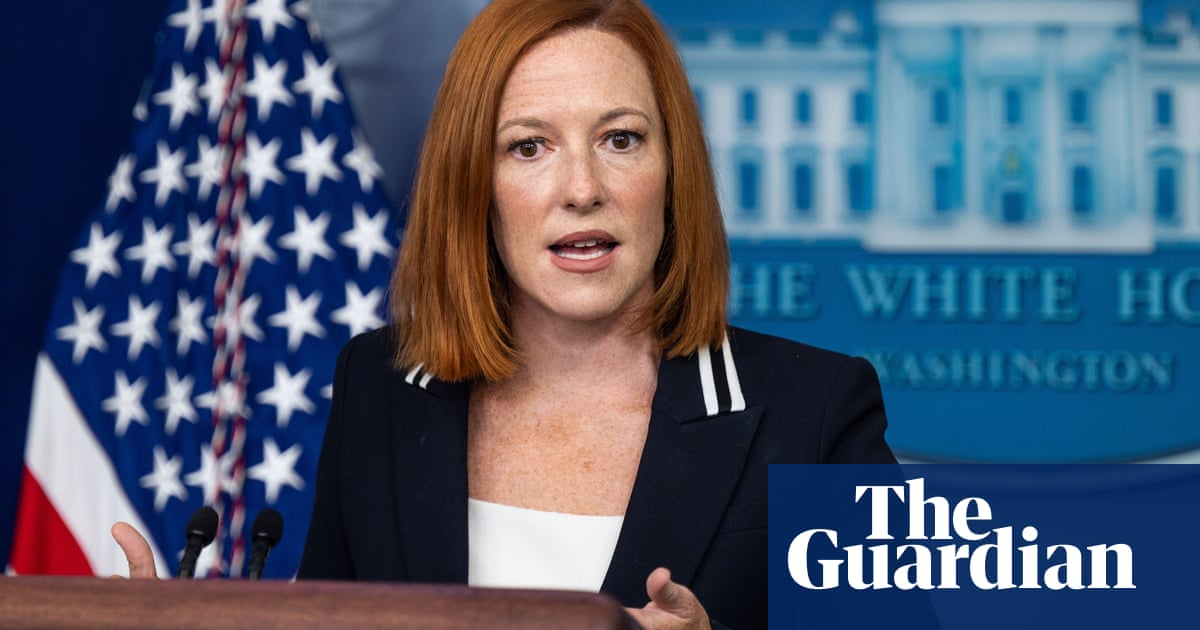 'You've never faced these choices': Jen Psaki tells reporter on anti-abortion question – video