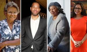 Oodgeroo Noonuccal, Ta-Nehisi Coates, Toni Morrison and Anita Heiss.