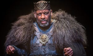 Word of mouth hit... Don Warrington as King Lear.
