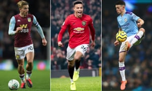 Jack Grealish, Mason Greenwood and Phil Foden have never been capped by England.