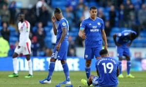 Cardiff City are heading back to the Championship after just one season in the top flight.