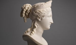 The Bust of Peace, a recently rediscovered sculpture by Antonio Canova (1757-1822)