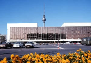 """Palast der Republic"" (""Palace of Republic), where the parliament of the GDR is situated."