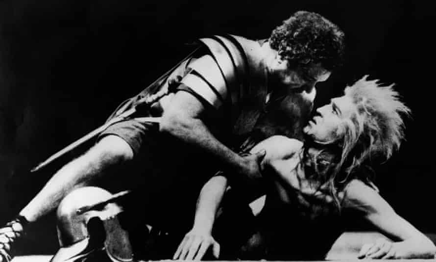 The Romans In Britain at the National Theatre, London, in 1980.