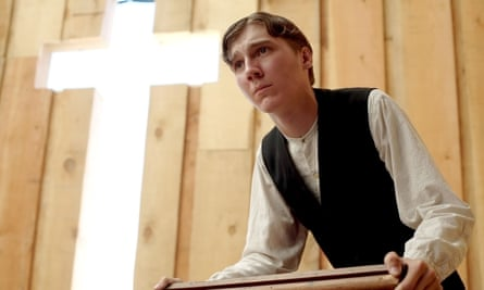 Paul Dano gets preaching.