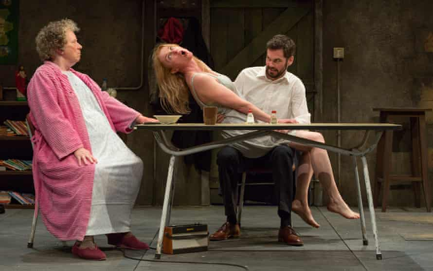 Marie Mullen as Mag and Aisling O'Sullivan as Maureen, with Marty Rea as Pato.