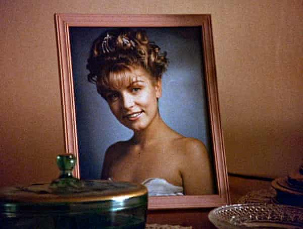 A portrait of Laura Palmer from Twin Peaks.