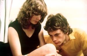 Dee Hepburn and John Gordon Sinclair in Gregory's Girl.