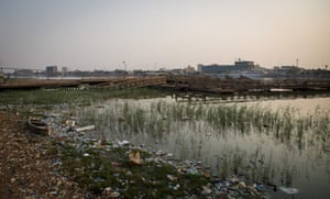Pollution of Basra's main waterway, Shatt al-Arab