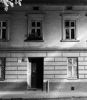 Philippe's grandfather Leon's house in Lviv