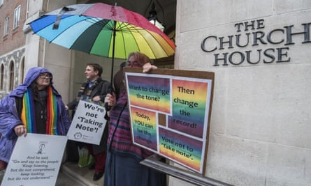 Gay rights demonstration