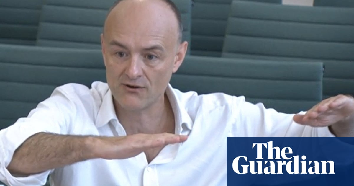 'The government failed': Dominic Cummings takes aim at No 10's Covid response