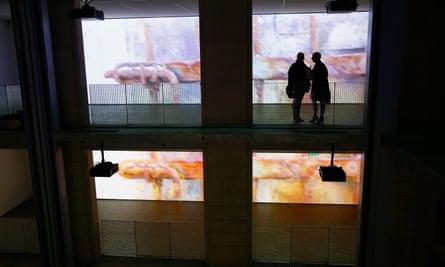 Installation at Galeries Lafayette Foundation, Paris.