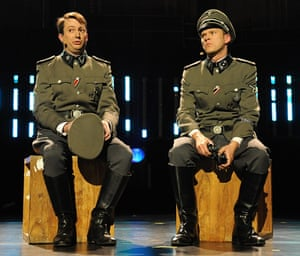 David Mitchell and Robert Webb in the Secret Policeman's Ball at the Royal Albert Hall in London, 2008.