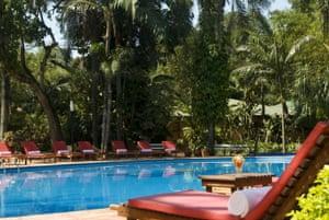 Outdoor pool at Hotel Saint George, Puerto Iguazu, Argentina