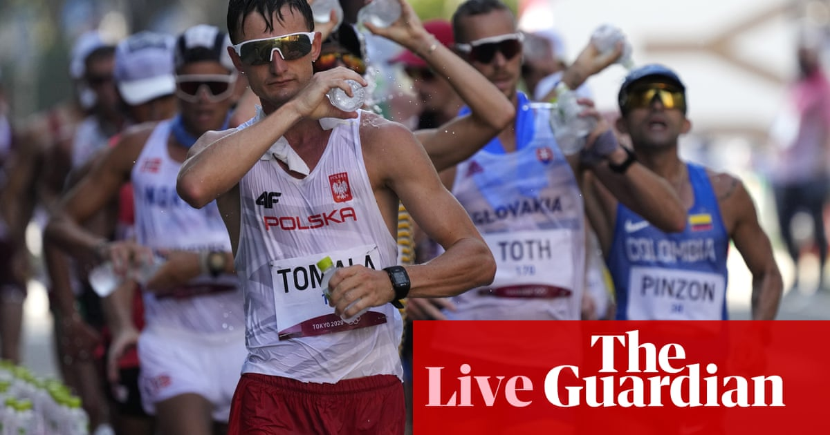 Tokyo 2020 Olympics: athletics, cycling, modern pentathlon and more – live!