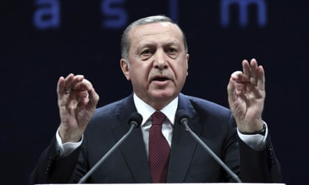 Turkey's president, Recep Tayyip Erdogan, launched a crackdown after the failed July coup.