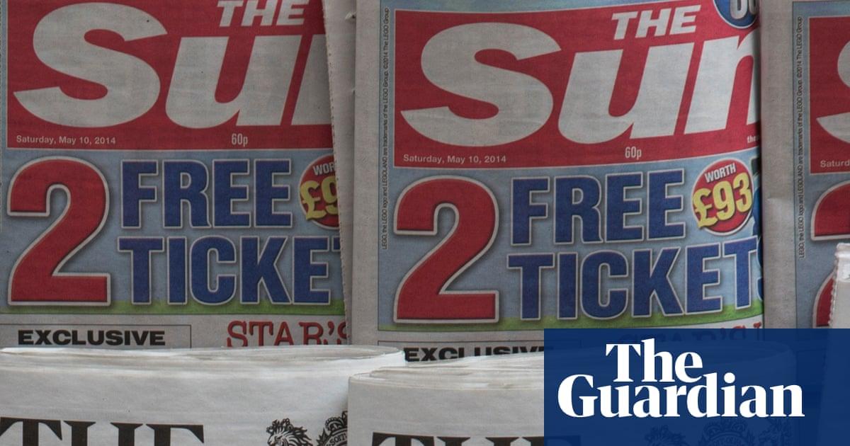 Rupert Murdoch writes down value of Sun newspapers to zero