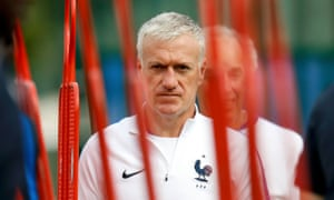 Dider Deschamps has spent 15 years coaching Monaco, Juventus, Marseille and now France.