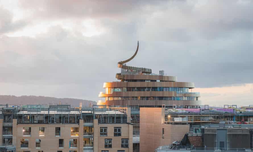 The W Hotel in Edinburgh.