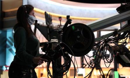 A camera operator.