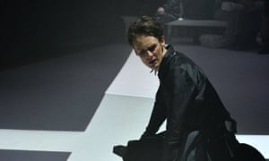 Ian Bostridge in Britten's Curlew River, streaming on the Barbican's website.