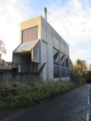 The boiler house in Melrose in the Scottish Borders designed by Peter Womersley in 1977, soon to be converted into five apartments.