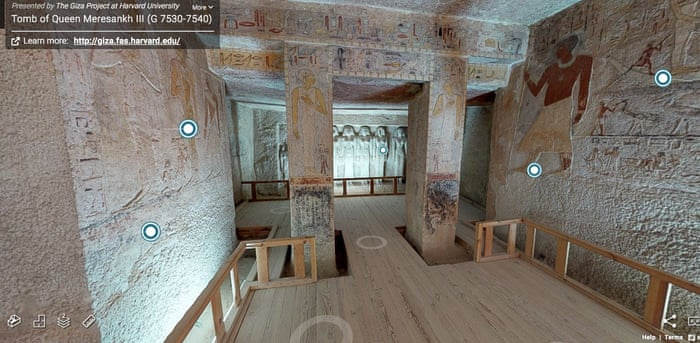 Five Thousand Year Old Egyptian Tomb Opens For Virtual Tour Travel The Guardian