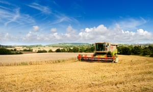 Harvesting in the Lincolnshire Wolds