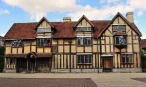 Shakespeare's birthplace in Stratford-upon-Avon