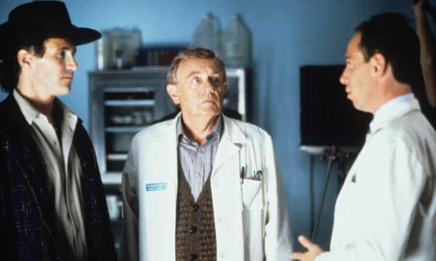 Miguel Ferrer, right, in Twin Peaks, 1990-91.