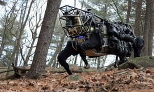 darpa robot big dog