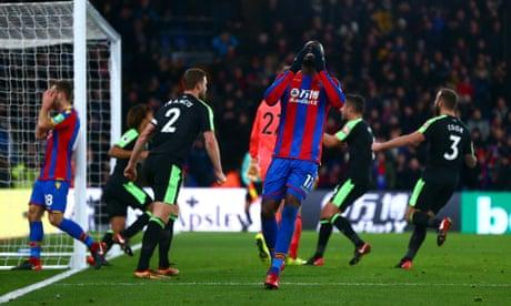 Christian Benteke apologises to Crystal Palace team-mates for penalty farce