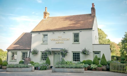 The Wellington Arms, Baughurst, Hampshire