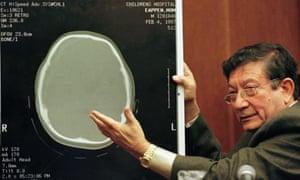 Dr Ayub Ommaya … responsible for many medical innovations.
